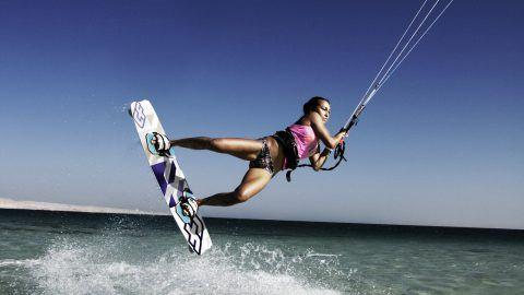 UCPA - kitesurfing