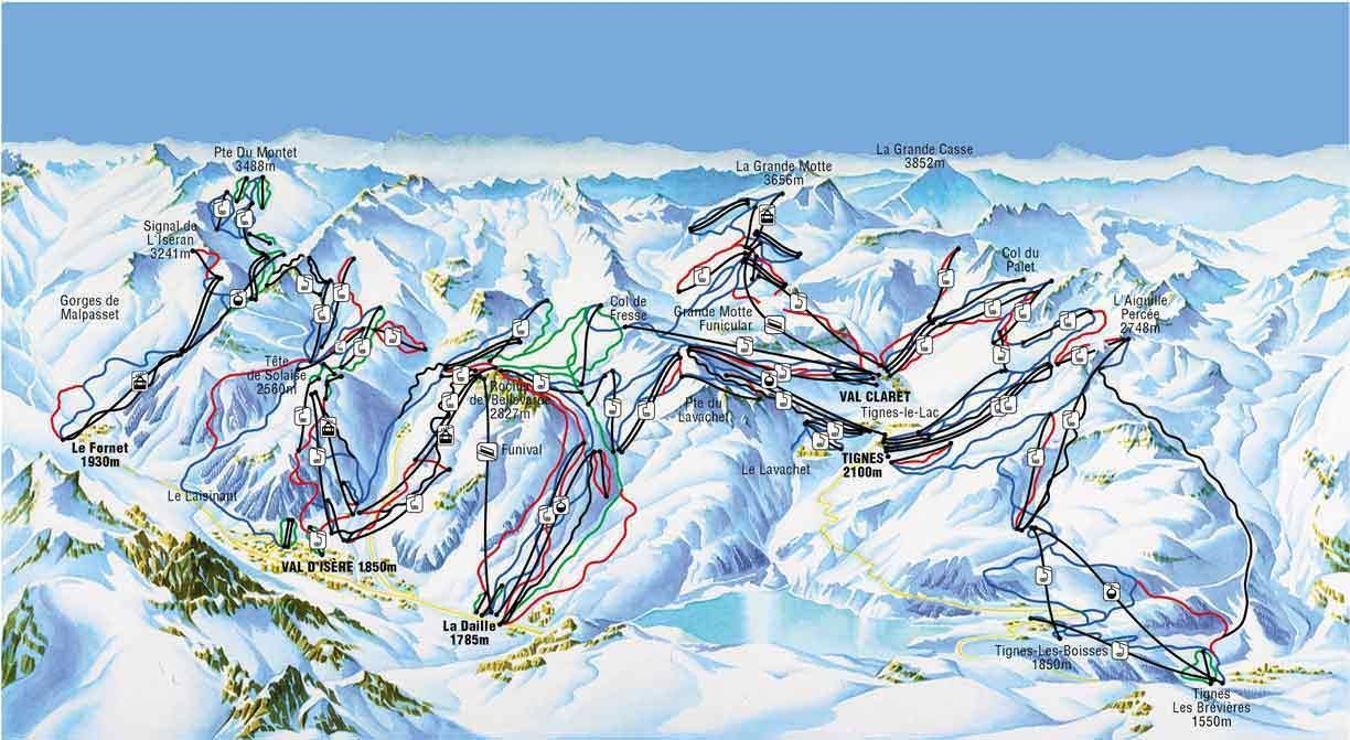 Espace-Killy-Piste-Map